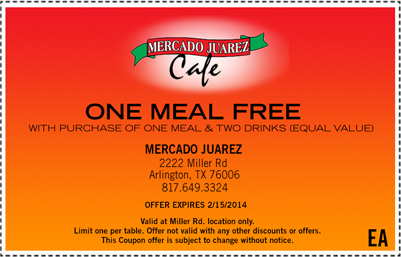 Mercado Coupon 2013