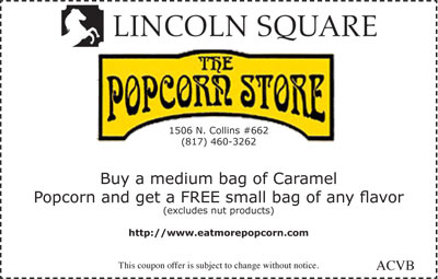 Free Small Bag of Popcorn